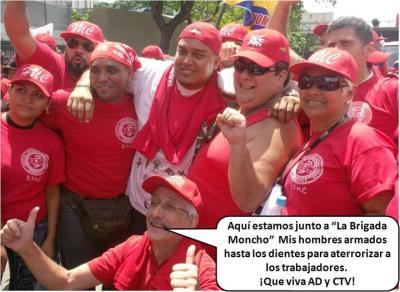 """""""La Brigada Moncho en la marcha del 1º de Mayo"""""""